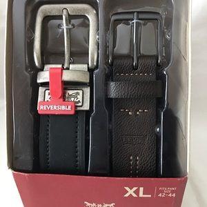 Levi's Men's Classic Belt Set- XL (42-44)